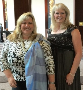 Gala night with Elizabeth Van Tassel